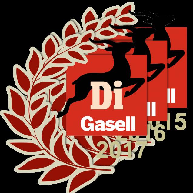 Sagac utsett till gasellföretag för tredje året i rad.